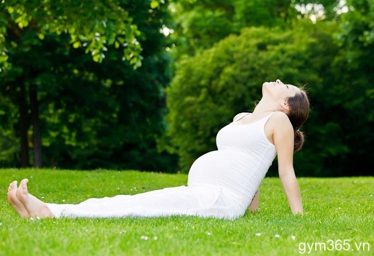 Bài tập yoga tốt nhất cho bà bầu 3 tháng đầu mang thai 1
