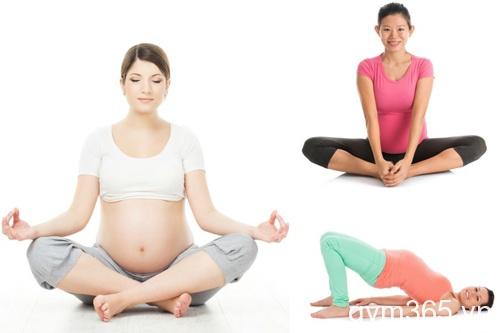 bài tập yoga cho bà bầu 3 tháng giữa