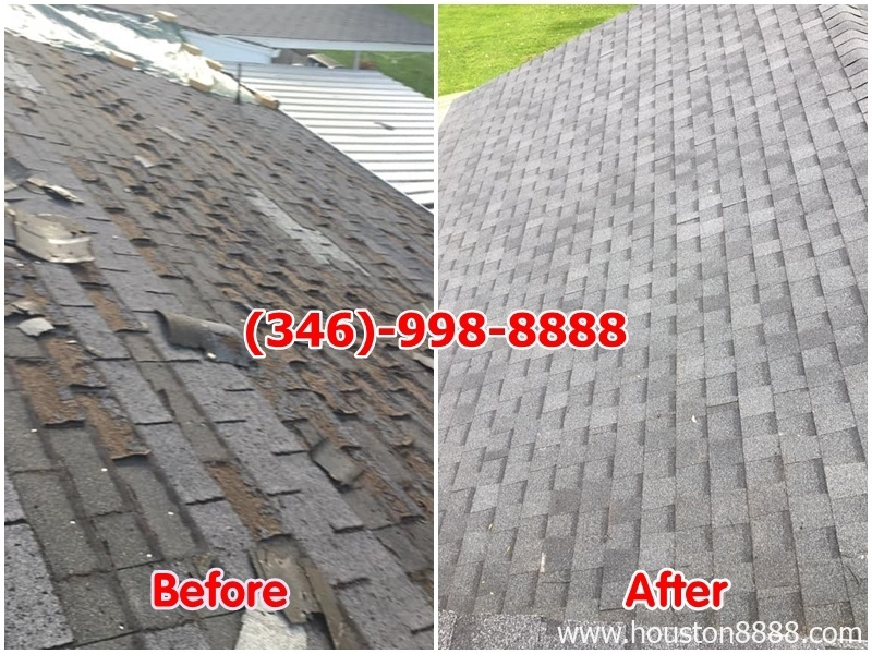 Hình ảnh lợp mái ngói mới remodeling nhà remodeling cơ sở thương mại Houston
