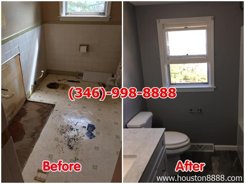 Sơn sửa, remodeling phòng tắm, nhà vệ sinh, remodeling nhà ở Houston
