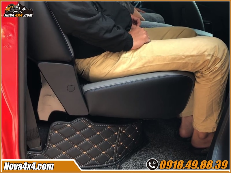 Độ ghế chỉnh điện xe bán tải để cảm nhận được những ích lợi mà nó đem đến