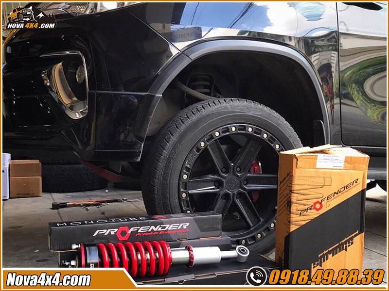 Cửa hàng lắp phuộc Profender xe bán tải cực cao cấp