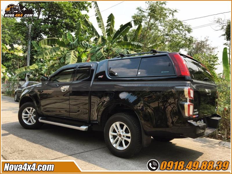 Nắp thùng xe bán tải Ford Ranger Hilux Dmax Triton BT50 Colorado Navara