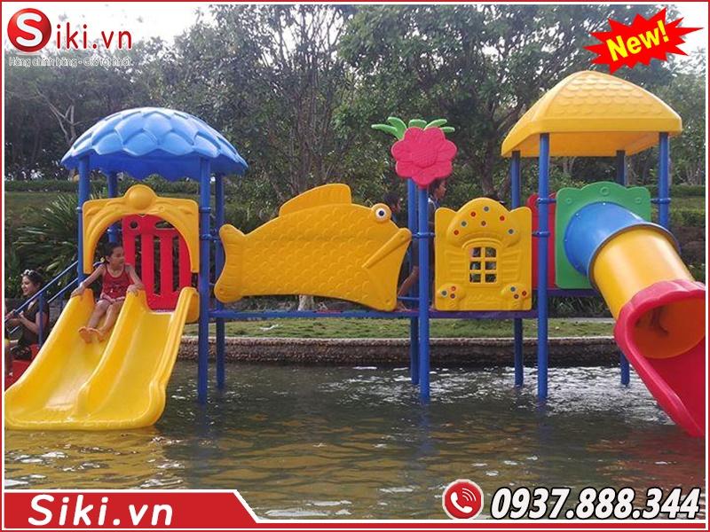 Cầu trượt hồ bơi giá rẻ 2020 2021 tại Sài Gòn